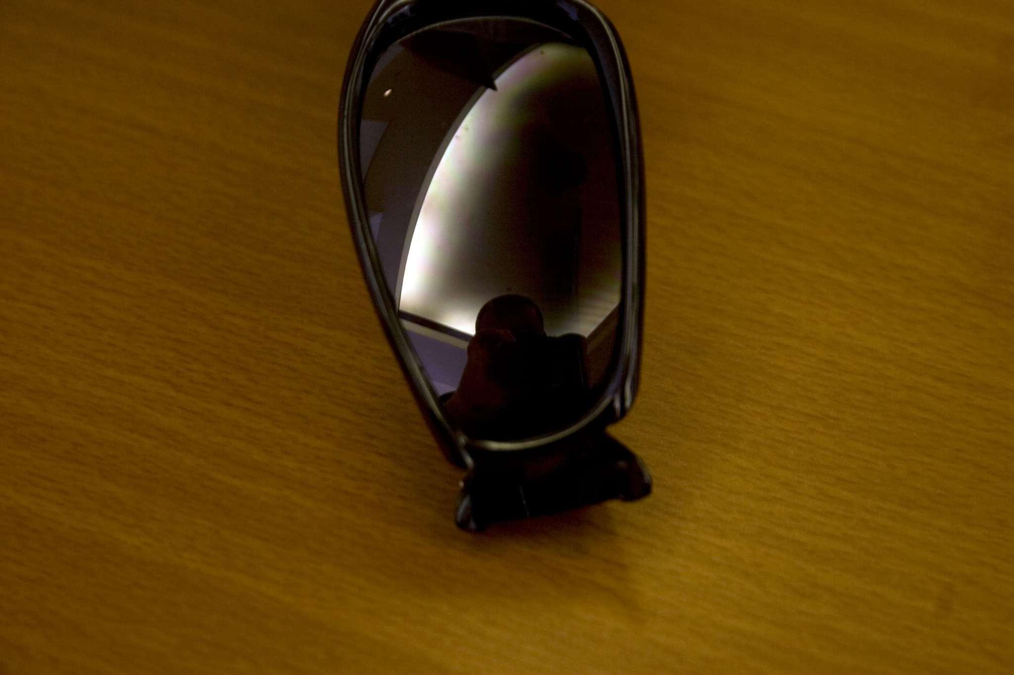Glasses shine