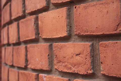 Brick relief by Scott Joyce