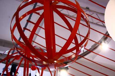 Red spirals by Scott Joyce