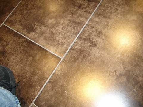 Glowing floor by Scott Joyce