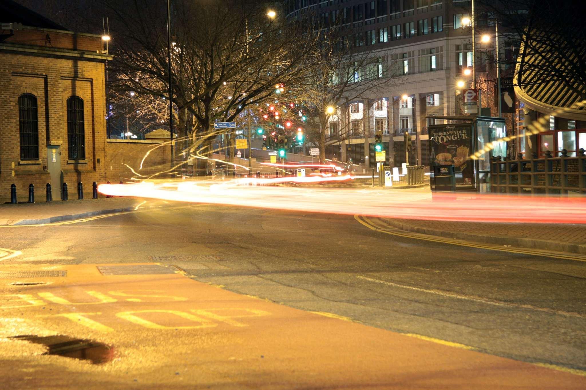 Speeding round corners