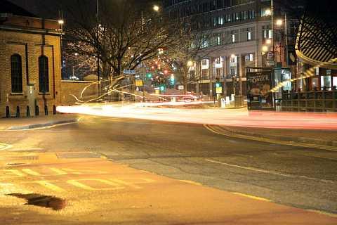 Speeding round corners by Scott Joyce