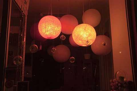 Glowing orbs by Scott Joyce