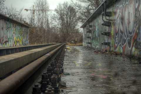 Off the rails by Scott Joyce