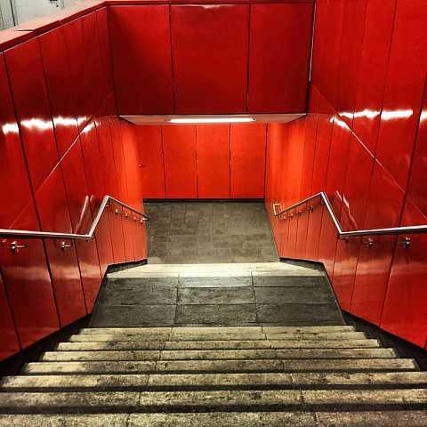 Seeing #red #Berlin by Scott Joyce