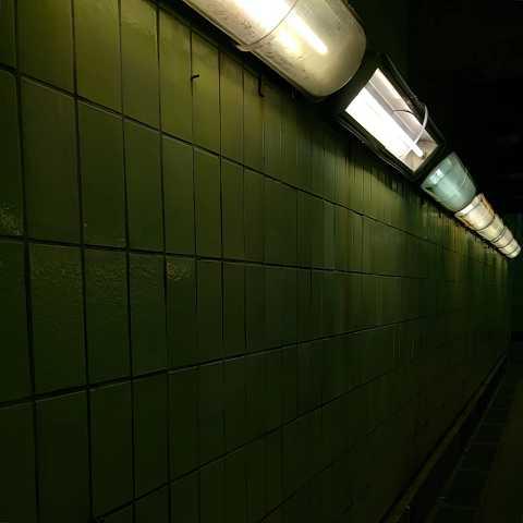 Creepy corridor by Scott Joyce