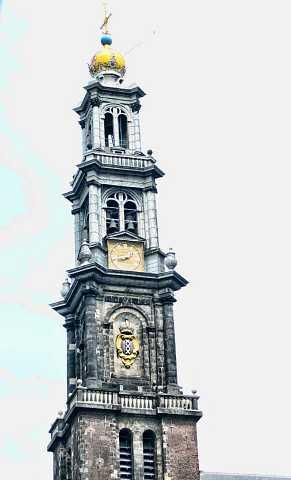Clock tower by Scott Joyce