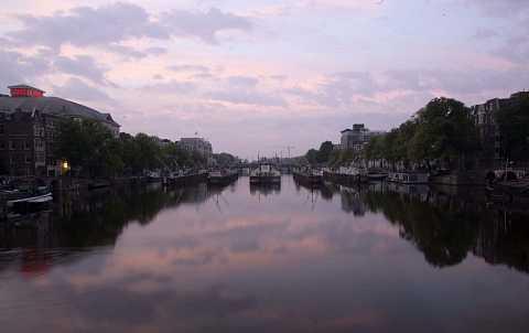 Canal at Dawn by Scott Joyce