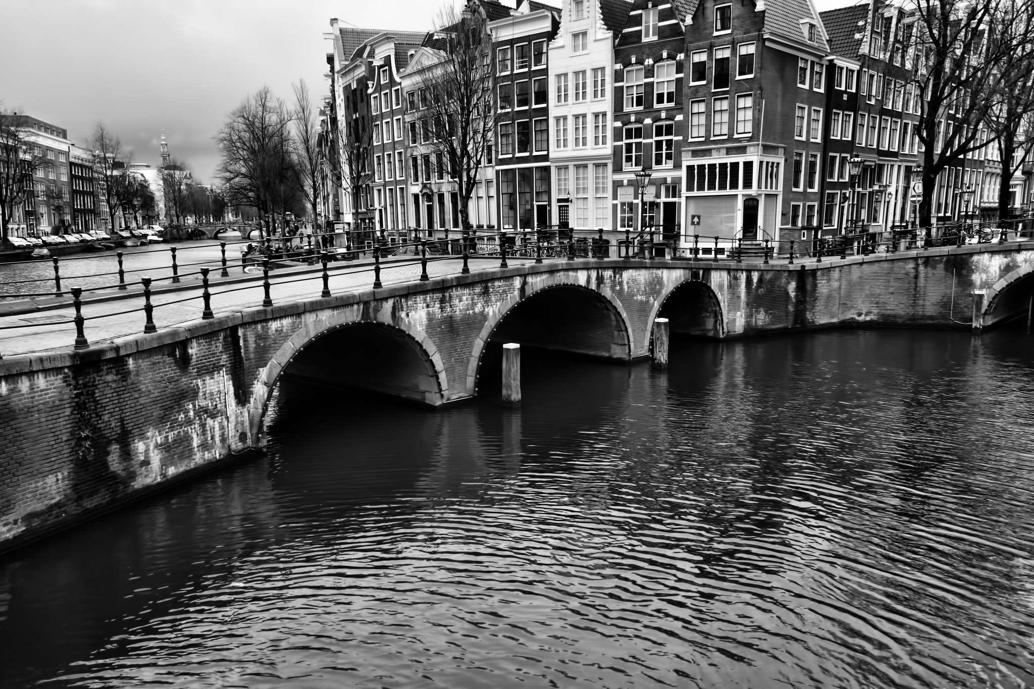 Bridge over canals