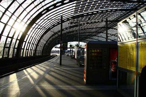 Hauptbahnhof in Spring by Scott Joyce