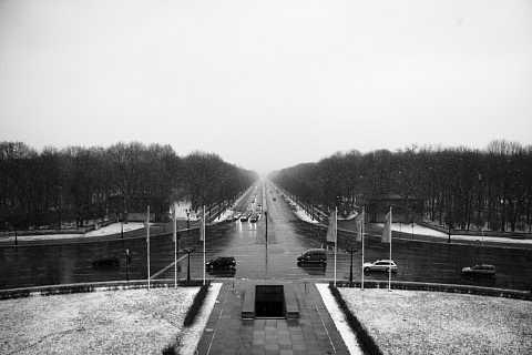 Tiergarten in Snow by Scott Joyce