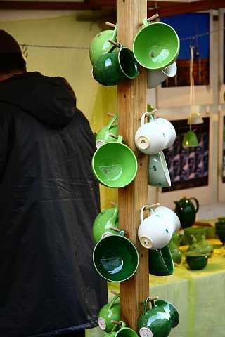 Green mugs by Scott Joyce