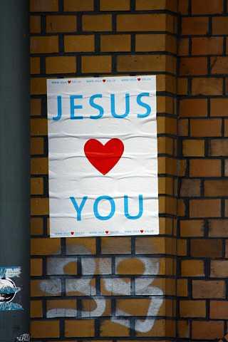 Jesus <3 You by Scott Joyce