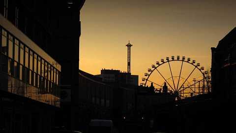 Berlin, Alexanderplatz by Scott Joyce