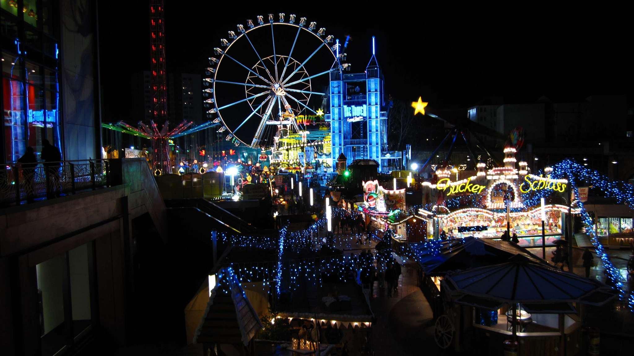 Christmas fair at Alexanderplatz