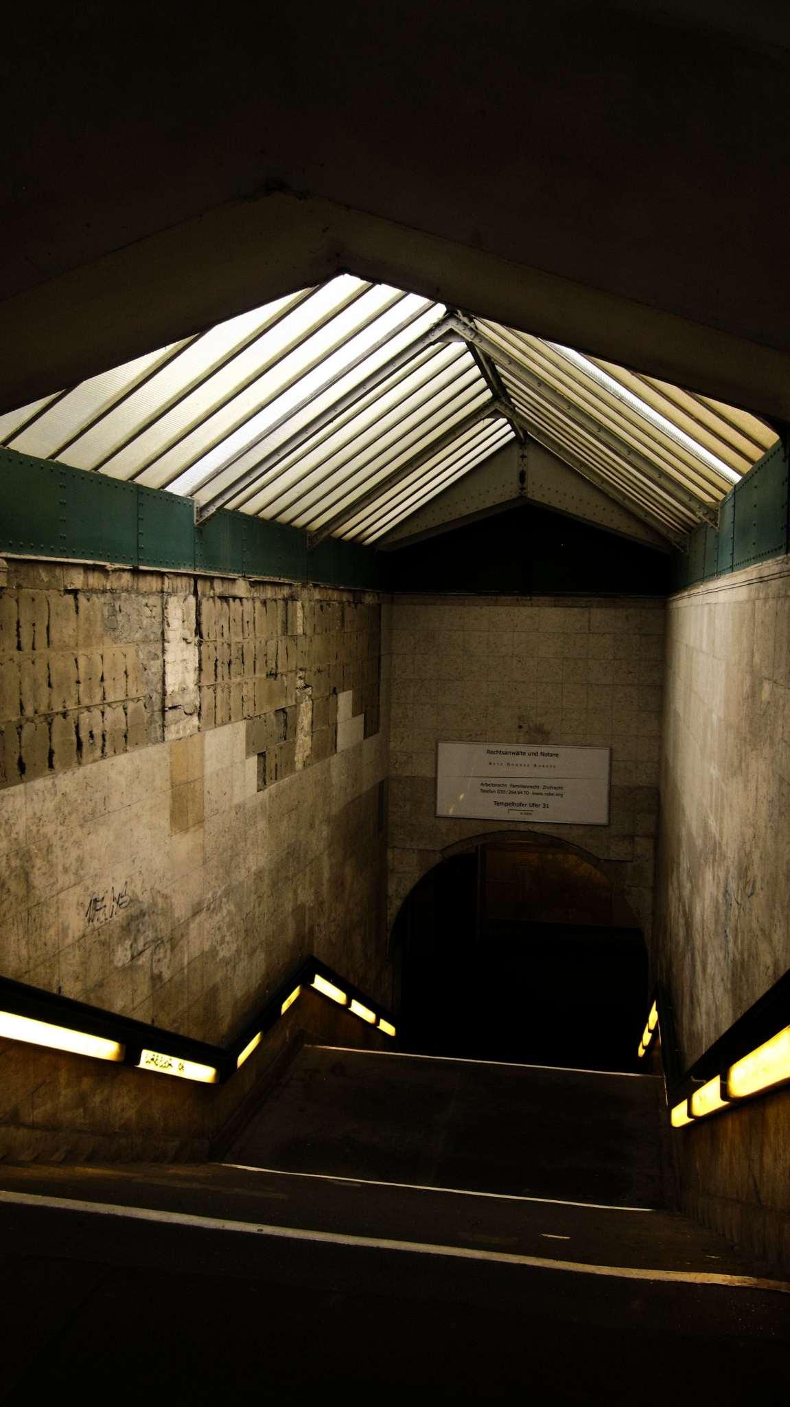 Spooky stairwell