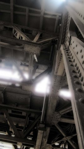 Under the tracks by Scott Joyce