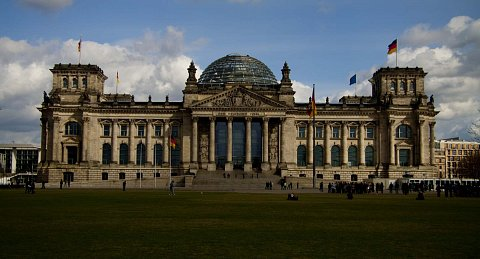 The Reichstag by Scott Joyce