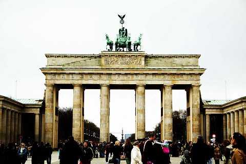 Brandenburg Gate by Scott Joyce