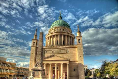 St. Nikolai Church in Potsdam by Scott Joyce
