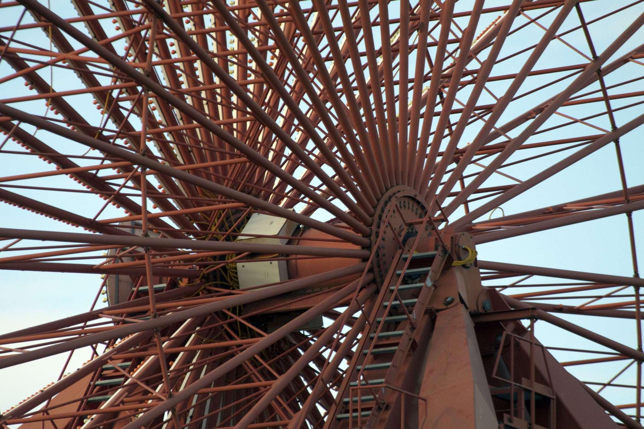 Spreepark wheel