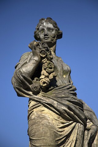 Charlottenburg Palace statue by Scott Joyce