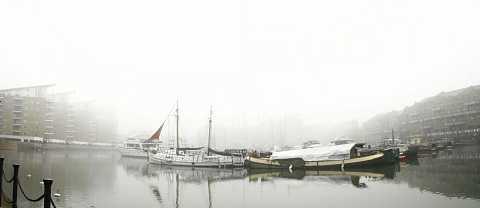 Panorama in fog by Scott Joyce