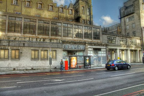 Old Abandoned building in Euston, London. HDR by Scott Joyce