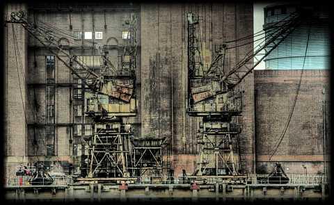 Battersea Power Station detail by Scott Joyce