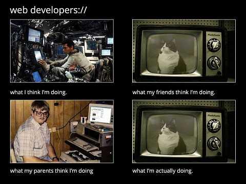 Web developers. by Scott Joyce