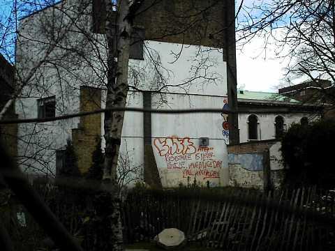 Side of a building by Scott Joyce