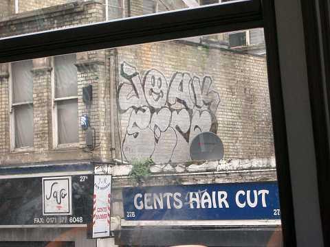 Gents hair graf and cut by Scott Joyce
