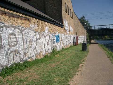 Canal tagging by Scott Joyce
