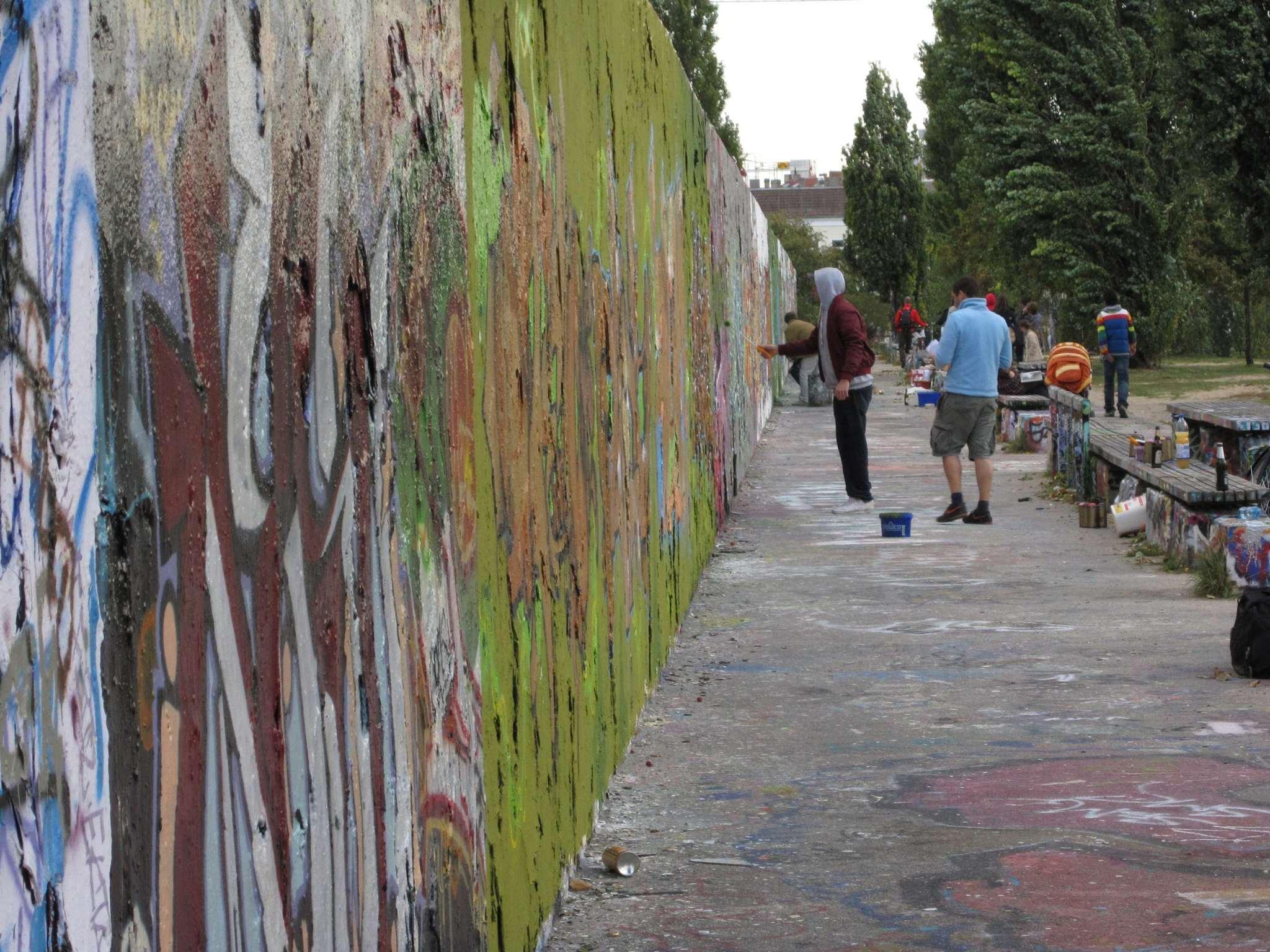 Mauerpark tagging