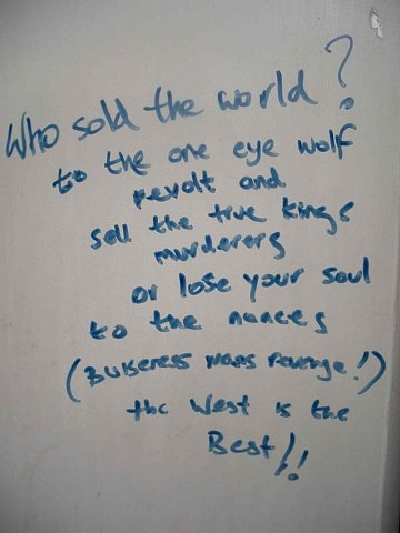 Who sold the world? by Scott Joyce