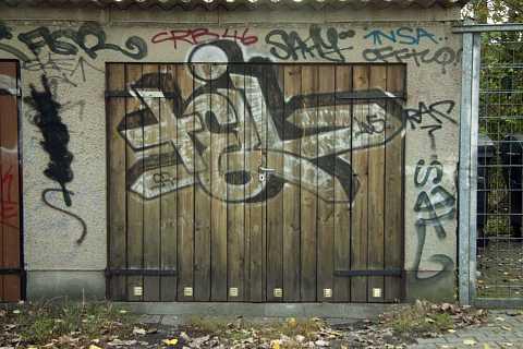 Loving a door by Scott Joyce