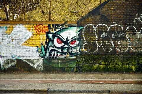 Angry wall by Scott Joyce