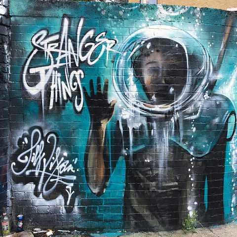 #strangerthings by Scott Joyce