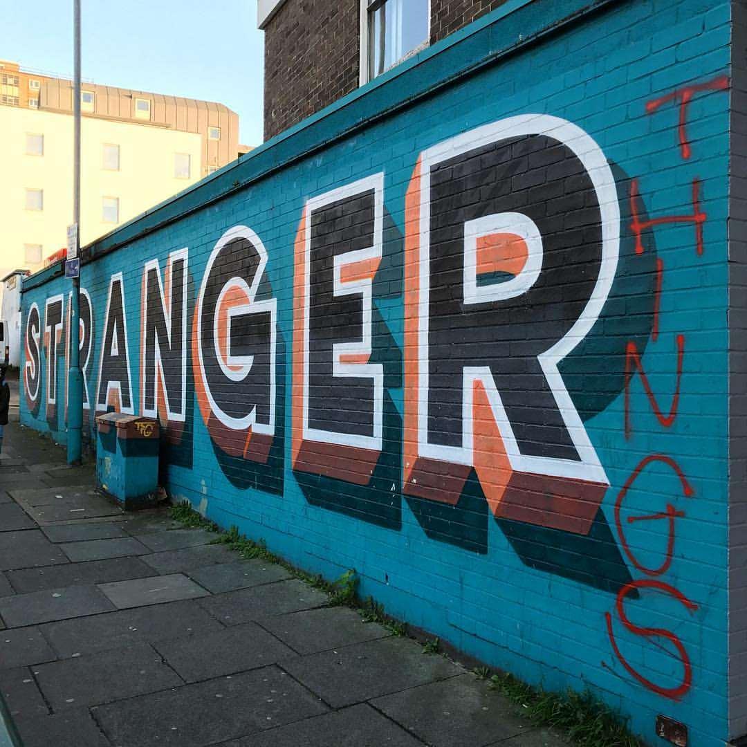 Today's favourite graffiti...
