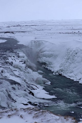 Gullfoss Waterfall. by Scott Joyce
