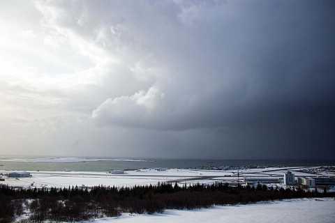 Iceland's weather is very changeable. by Scott Joyce