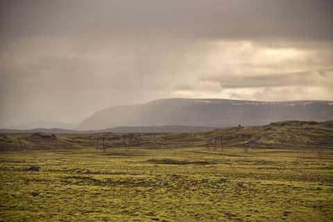 Lava fields by Scott Joyce
