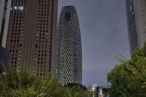 Tokyo Architecture by night by Scott Joyce