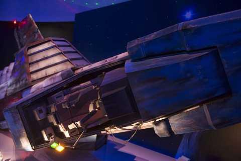 Gundam Front wreck by Scott Joyce