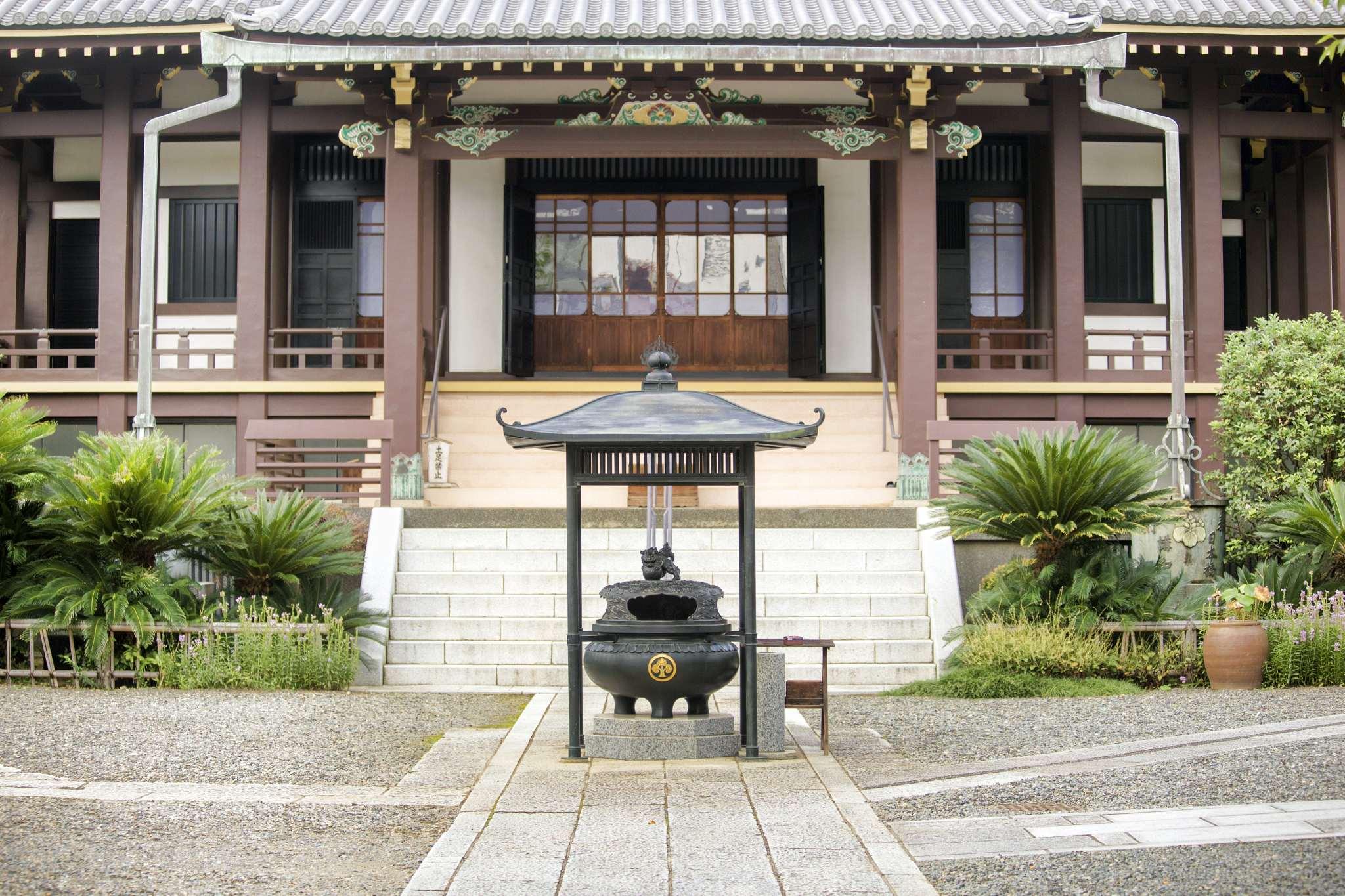 A Tokyo Temple