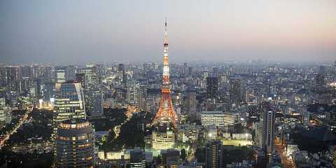 Tokyo Tower by Scott Joyce