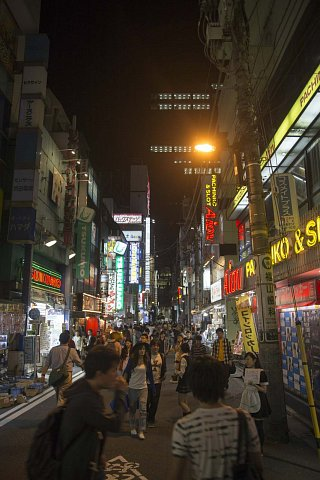 Streets of Tokyo by night by Scott Joyce
