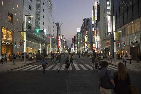 Ginza, Tokyo by Scott Joyce