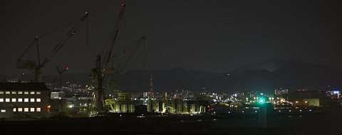 Kobe skyline by Scott Joyce
