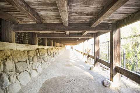 Miyajima passage under temple building by Scott Joyce